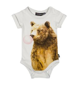 Rock Your Baby bubble gum bear onesie