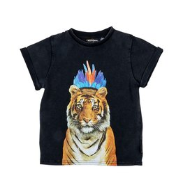 Rock Your Baby headdress tiger tee