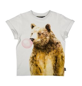Rock Your Baby bubble gum bear tee