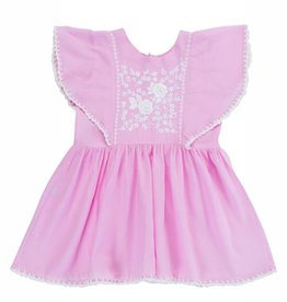 Coco and Ginger baby garnett dress- rose