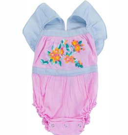 Coco and Ginger camille sunsuit- rose