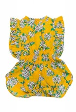 Coco and Ginger baby delphine sunsuit- saffron
