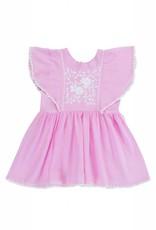 Coco and Ginger baby garnett dress- rose