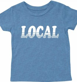 Tiny Whales local tee- blue