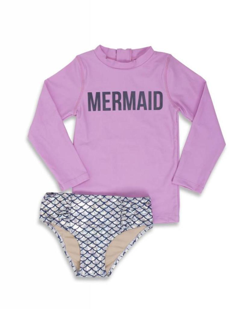 Shade Critters magic mermaid rashguard set