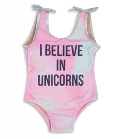 Shade Critters unicorns and rainbows swimsuit