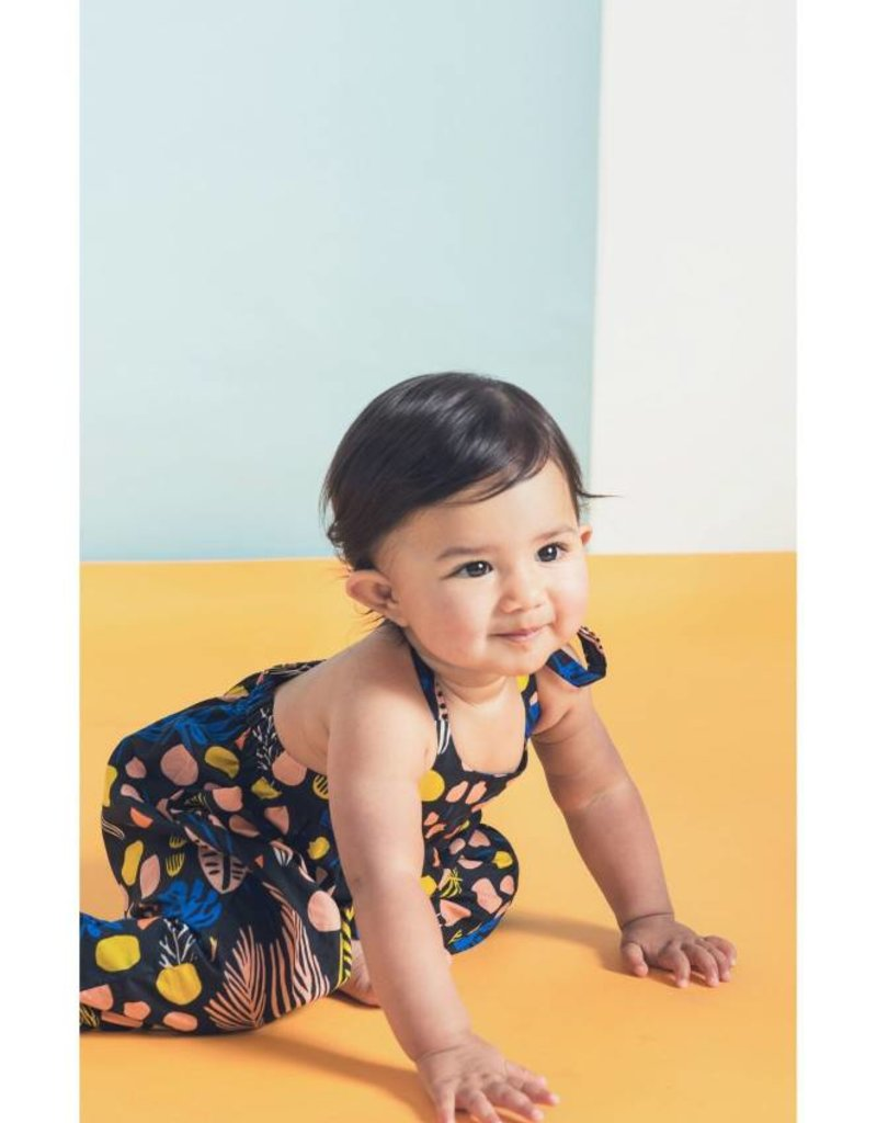 Anthem of the Ants playdate playsuit- tutti frutti