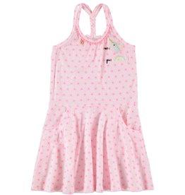 Mim-Pi unicorn braided dress- pink