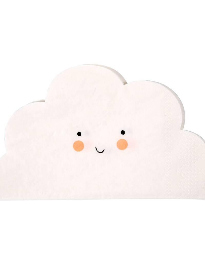 Meri Meri cloud cutout napkins