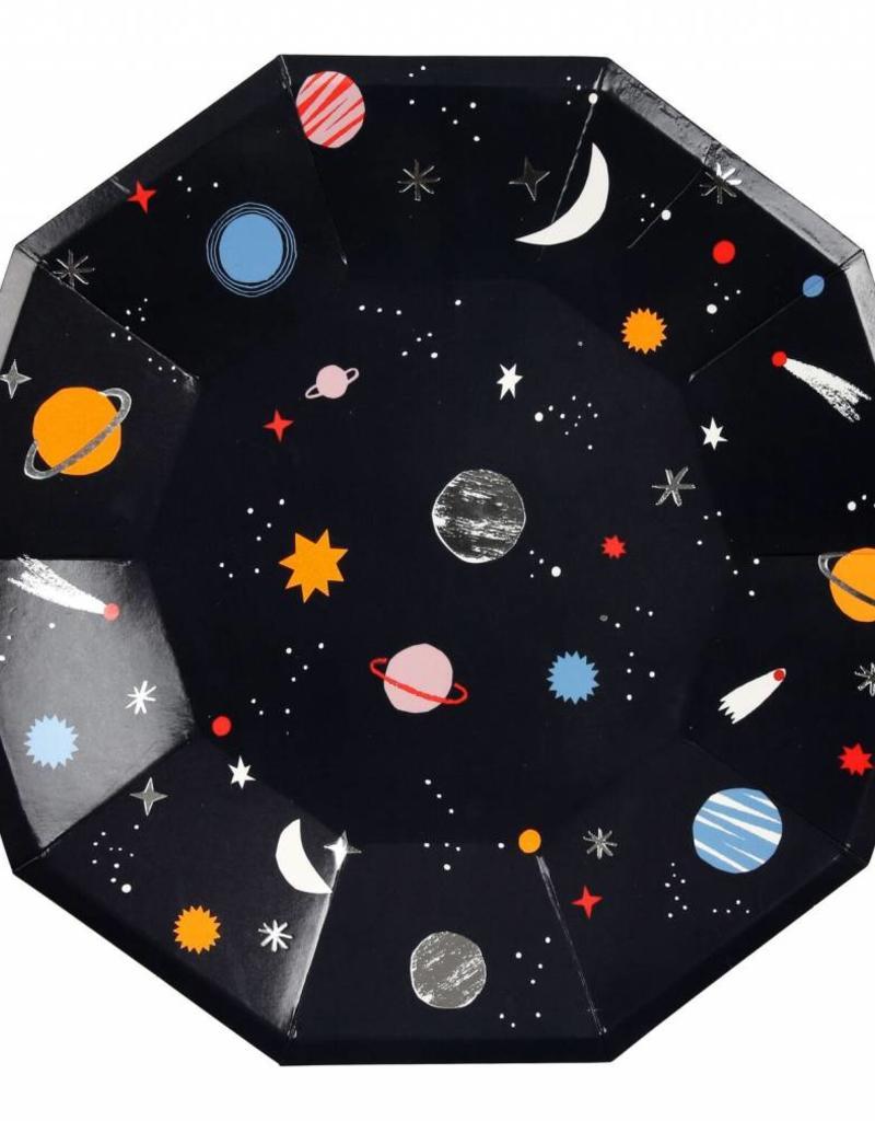 Meri Meri space plates large
