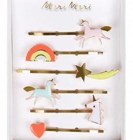 Meri Meri unicorn enamel hairclips