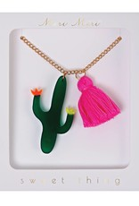Meri Meri cactus necklace