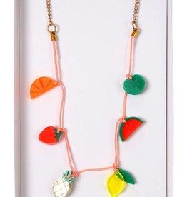 Meri Meri fruit necklace