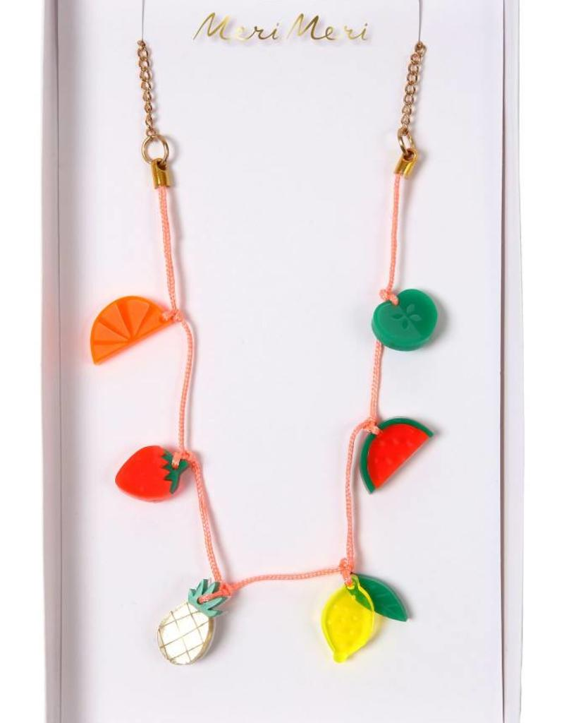 Meri Meri fruit necklace