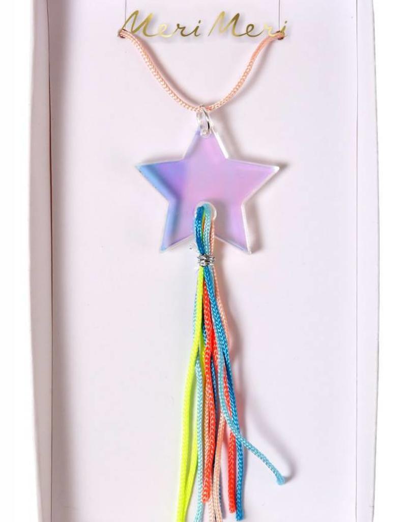 Meri Meri shooting star necklace