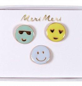 Meri Meri emoji pins