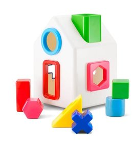 Kid-O Toys sort-a-shape house
