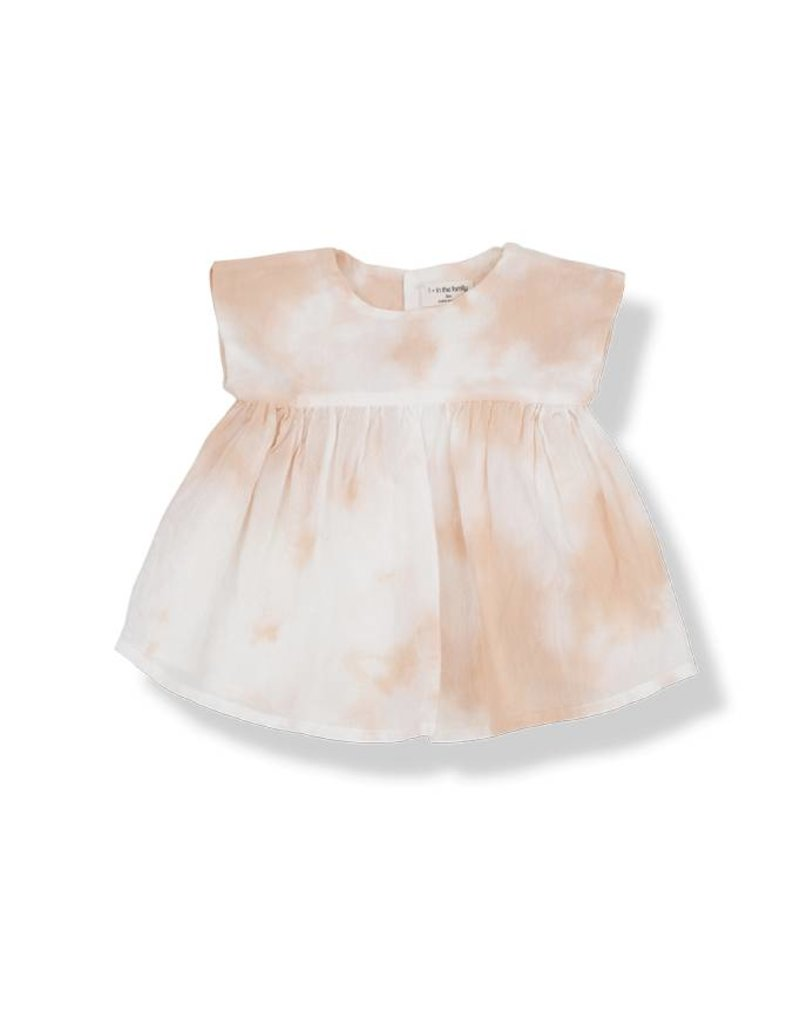 1+ in the Family paola dress- peach