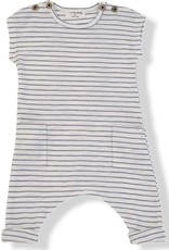 1+ in the Family matisse jumpsuit- blue stripe