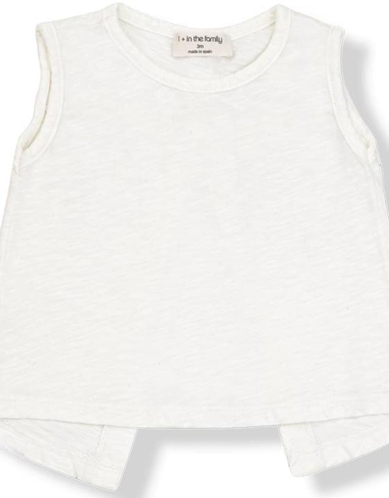 1+ in the Family khalo tank- off white