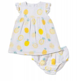 Angel Dear pineapple dress set