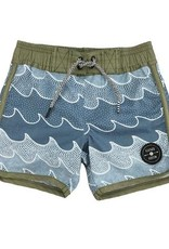 Feather 4 Arrow cosmic waves boardshort