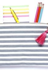 Taylor Elliott Designs pom pom pouch