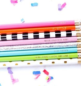 Taylor Elliott Designs pep talk- pink pencil set