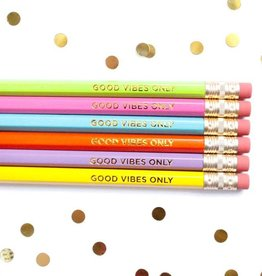 Taylor Elliott Designs good vibes pencil set