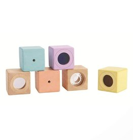 Plan Toys sensory blocks set