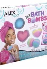 Alex Brands diy bath bombs