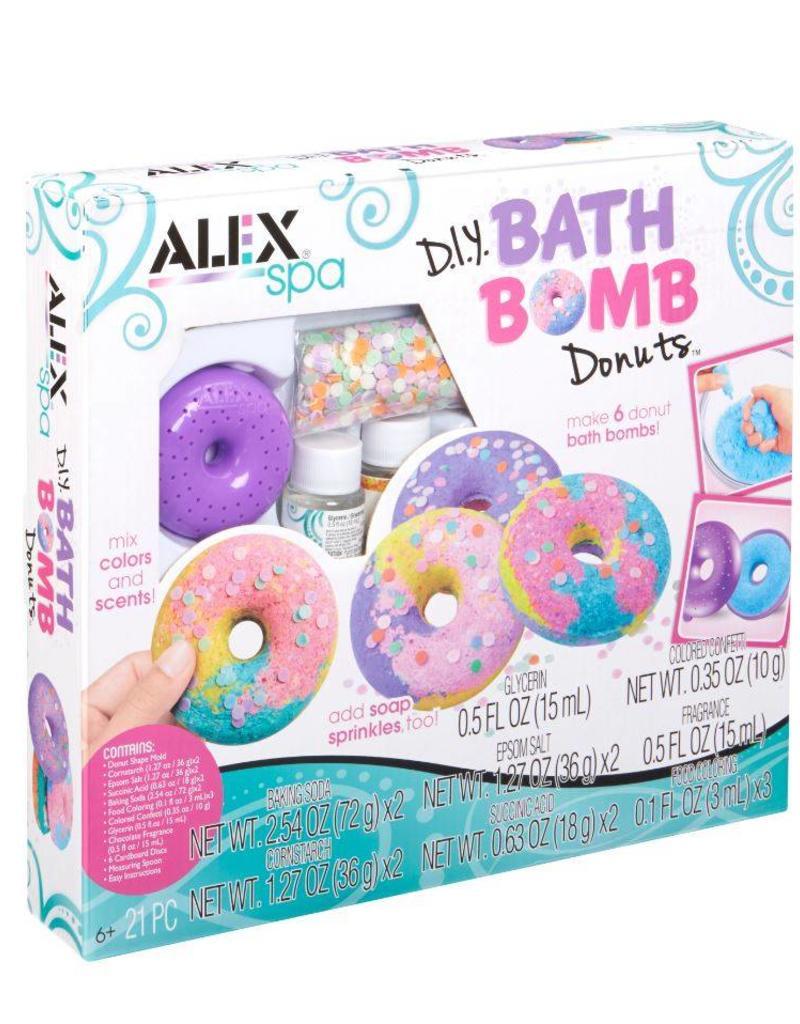 Alex Brands diy bath bomb donuts