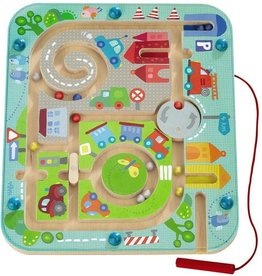 Haba magnetic game- town maze