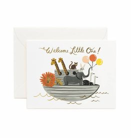 Rifle Paper Co. noah's ark baby card