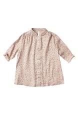 Rylee and Cru scattered stars button shirt dress- petal