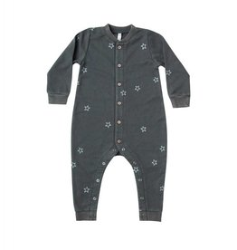 Rylee and Cru star embroidered long john- midnight