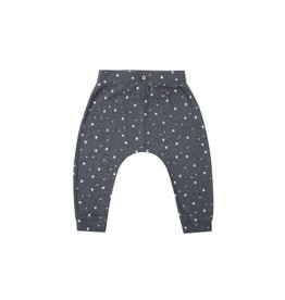 Rylee and Cru stardust slouch pant- midnight