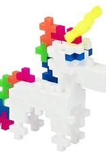 Plus Plus mini maker unicorn tube