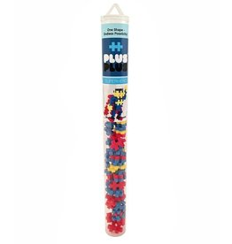 Plus Plus mini maker superhero tube