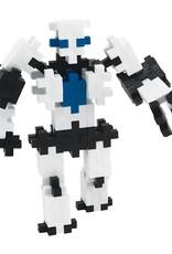 Plus Plus mini maker robot tube