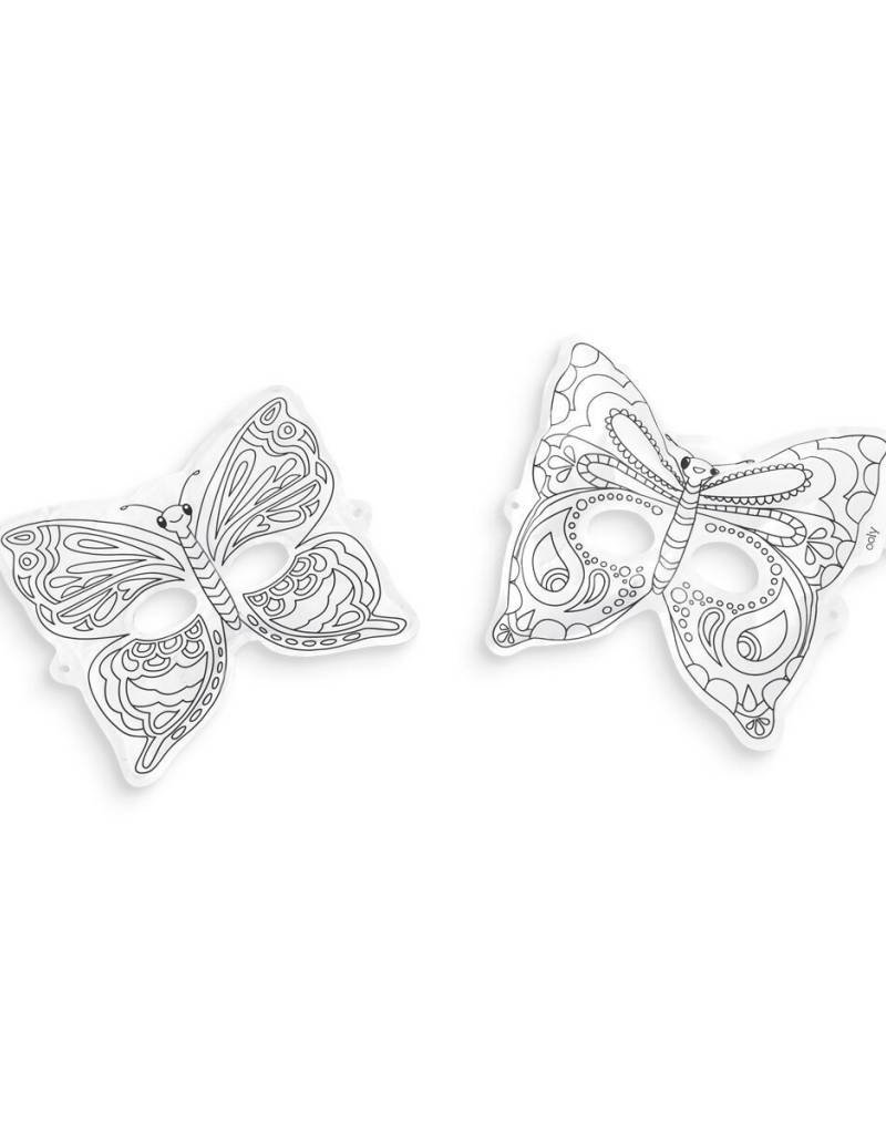 OOLY 3D colorables- breezy butterfly