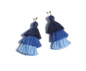 Aria Earrings Blue The Little Things