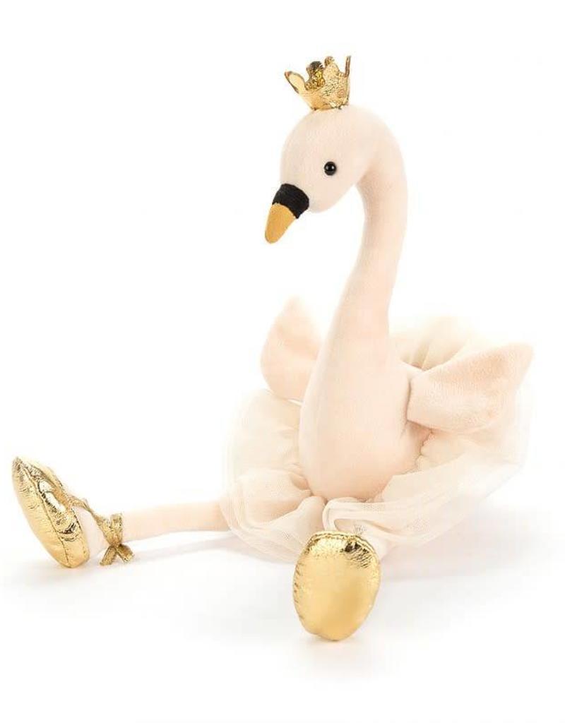 Jellycat fancy swan- medium