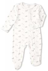 Angel Dear baby fox footie (zip)