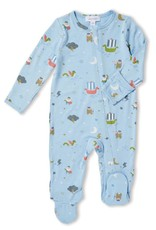 Angel Dear little viking footie (zip)