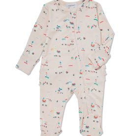 Angel Dear lovely llamas footie (zip)