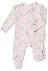 Angel Dear zebra footie (zip)