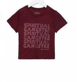 Spiritual Gangsta sg retro tee- amor