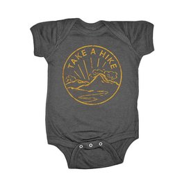 Feather 4 Arrow take a hike onesie