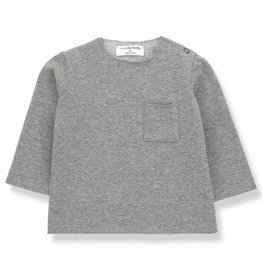1+ in the Family oriol t-shirt- mid grey